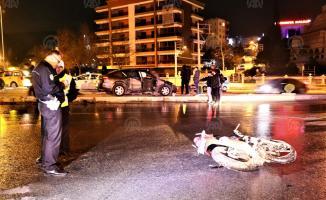 İzmir Bornova'da motosiklet kazası: 1 ölü