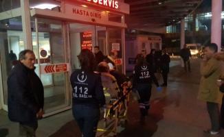 Karabük'te, yedikleri yemekten dolayı zehirlenen 80 kişi hastaneye kaldırıldı
