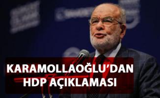 Karamollaoğlu HDP'nin, partilerinin lehine adaylarını çekmesine ilişkin açıklamada bulundu