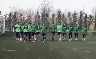 Konyaspor'da Kayserispor maçı hazırlıkları