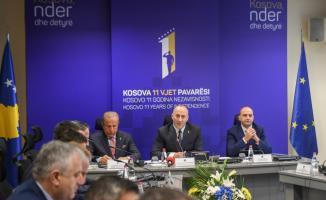 Kosova'nın bağımsızlığının 11. yıl dönümü kutlanıyor