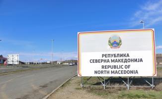 Makedonya-Yunanistan sınırına