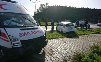 Muğla'da ambulans ile otomobil çarpıştı: 4 yaralı