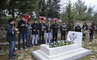 Öğrenciler Afrin şehidini andı