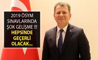 ÖSYM Başkanı Aygün'den Flaş Açıklama! Nöbetçi Nüfus Müdürlüğü Uygulamasında Yeni Gelişme