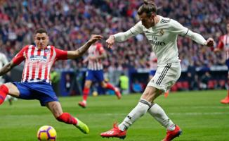 Real Madrid, deplasmanda Atletico Madrid'i mağlup etti