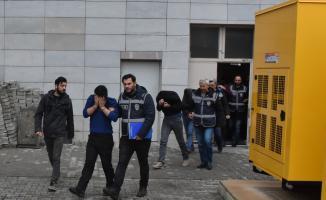 Samsun'daki hırsızlık operasyonu