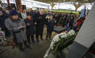 Saraybosna'daki pazar yeri kurbanları anıldı