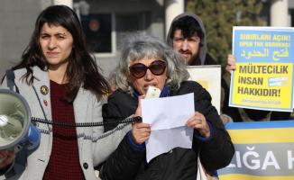 Sınırda düzensiz göçle ilgili destek açıklaması