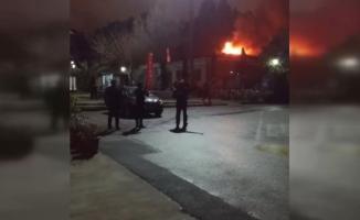 Son Dakika... Marmara Üniversitesi'nde Korkutan Yangın