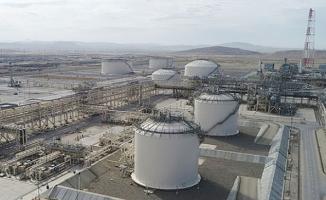 Trans Anadolu Doğalgaz Boru Hattı (TANAP) ile 1 milyar metreküpten fazla doğal gaz Türkiye'ye nakledildi