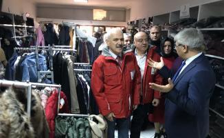 Türk Kızılay Karabük'te butik açtı