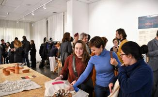 Türk ve Suriyeli kadınların tasarımları İsveç'te sergilendi