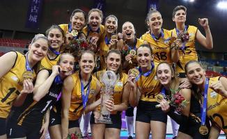 VakıfBank kadın voleybol takım yarın Almanya'nın Allianz MTV takımıyla karşılaşacak