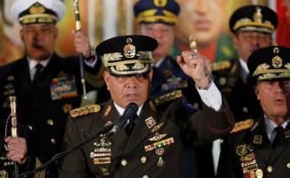 Venezuela Savunma Bakanı'ndan Maduro'ya destek açıklaması