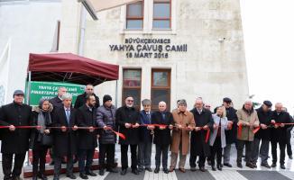 Yahya Çavuş Camisi ibadete açıldı