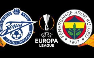 Zenit- Fenerbahçe Avrupa Ligi Maç Sonucu! Zenit- Fenerbahçe Maç Özeti Tıkla İzle