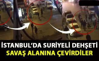 Zeytinburnu'nda suriyelilerin kavgası- Döner bıçaklarıyla saldırdılar