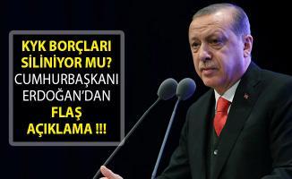 2019 KYK Öğrenim Kredisi Borçları Silindi Mi? KYK Borcu Silinecek Mi? Cumhurbaşkanı Erdoğan'dan Açıklama- KYK Borcu