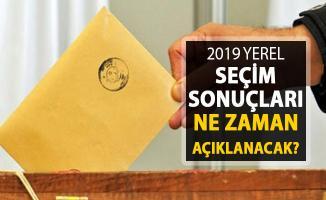 2019 Yerel Seçim Sonuçları Kaçta Açıklanacak? YSK Yayın Yasağı Ne Zaman Kalkıyor?