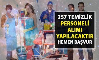 257 temizlik personel alımı için yeni iş ilanları yayınladı! İŞKUR temizlik personeli alımı yapıyor!..