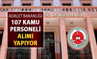 Adalet Bakanlığı 107 Kamu Personeli Alımı İlanı Resmi Gazete'de Yayımlandı