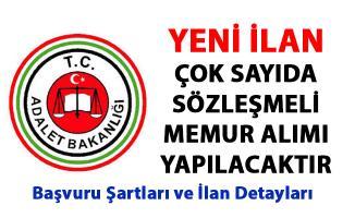 Adalet Bakanlığı Memur Alım ilanları yayımladı! 72 Sözleşmeli memur personel alımı yapılacak!..
