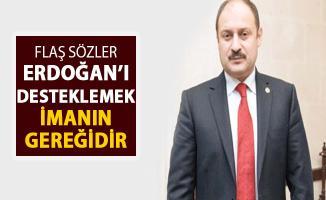 AK Partili Gülpınar: Erdoğan'ı Desteklemek İmanın Gereğidir