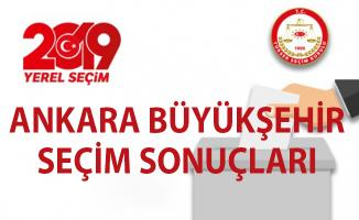 Ankara Büyükşehir yerel seçim sonuçları! 31 Mart yerel seçim son durum!..