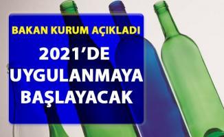 Bakan Kurum, Depozito uygulaması'nın 2021'de başlayacağını duyurdu