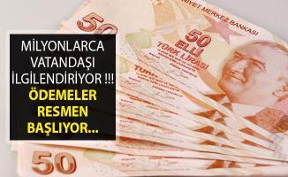 Bakan Pakdemirli Açıkladı- Ödemeler Resmen Başlıyor