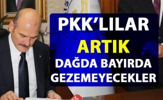 Bakan Soylu, PKK ile yapılan mücadele hakkında yeni bir gelişmeyi açıkladı
