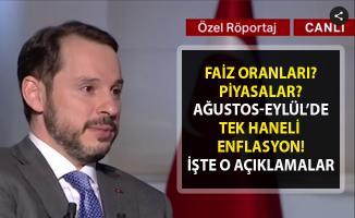 Berat Albayrak'tan tek haneli enflasyon oranları vaadi! 2019 faiz beklentileri!..
