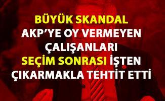 Büyük skandal! Mehmet Metiner, AKP'ye oy vermeyenleri işten çıkarma ile tehtit etti