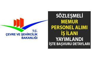 Çevre ve Şehircilik Bakanlığına memur personel alımı için iş ilanı başvurusu yayımlandı!. İşte başvuru şartları..