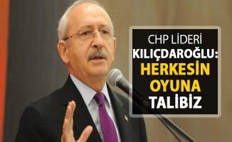 CHP Lideri Kılıçdaroğlu Açıkladı: Herkesin Oyuna Talibiz