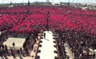 Cumhur İttifakı İstanbul Mitingine Katılan Kişi Sayısı Belli Oldu