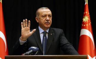 Cumhurbaşkanı Erdoğan: Bizi Tehdit Etmeye Yeltenen Müptezeller Bu Milletin Tarihini İyi Öğrensin