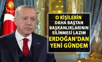Cumhurbaşkanı Erdoğan'dan yeni gündem!.. 'GBT sisteminin ben doğru çalıştığına inanmıyorum!'