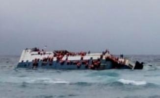 Dicle Nehri'nde Feribot Battı- En Az 72 Kişi Hayatını Kaybetti- Musul Dicle Nehri Feribot Battı