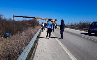 Edirne'de Askeri Araç Kaza Yaptı: Yaralılar Var