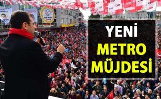 Ekrem İmamoğlu, Yeni metro müjdesi! İstanbul'a yeni metro hattı nereye yapılacak?