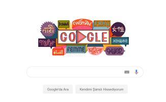 Google'den Jest- 8 Mart Dünya Kadınlar Gününü Doodle Yaptı