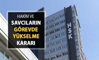 Hakim ve Savcıların Görevde Yükselme Kararları Resmi Gazete'de Yayımlandı