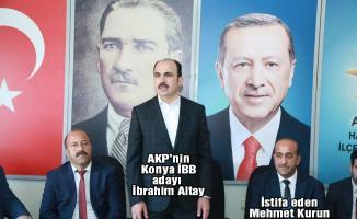 Halkapınar AKP İlçe Başkanı Mehmet Kurun, partisinin oylarının hızla kaybetmesini gerekçe göstererek istifa etti