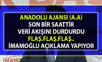 İmamoğlu: 'AA Verileri Güven Vermiyor' Manipülasyon var!..