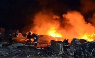 Irak'ta bomba yüklü araç patlatıldı! Çok sayıda ölü ve yaralı var