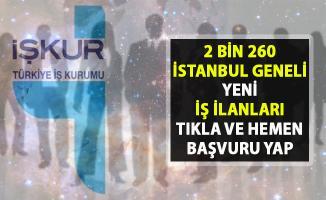 İş İlanları İstanbul Avrupa- Anadolu! İŞKUR'da İstanbul için 2 bin 260 yeni iş ilanları yayınlandı!