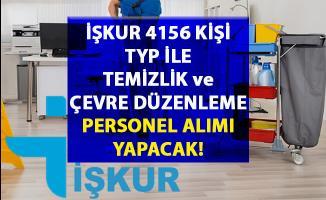 İŞKUR tarafından TYP ile Temizlik ve Çevre Düzenleme Personel alımı yapılacaktır!