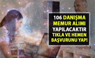 İŞKUR, yeni iş ilanları yayınladı! İŞKUR 106 danışma memur alımı yapacak!..